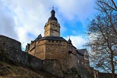 城堡Falkenstein 图库摄影