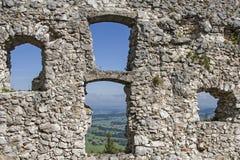 城堡Falkenstein 免版税库存图片