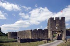 城堡farleigh hungerford 免版税库存图片