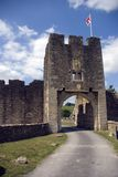 城堡farleigh hungerford 库存图片