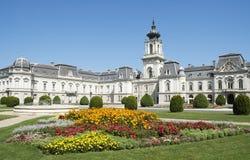 城堡festetics匈牙利 库存图片