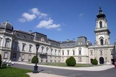 城堡festetics keszthely匈牙利 库存图片