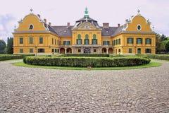 城堡festetics nagyteteny的匈牙利 免版税库存图片