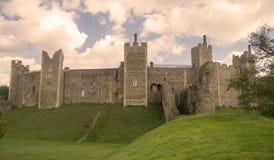 城堡framlingham 库存照片