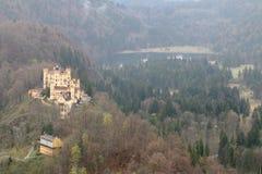 城堡fussen德国 免版税库存图片