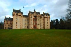 城堡fyvie 免版税图库摄影