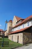 城堡glücksburg 免版税库存图片