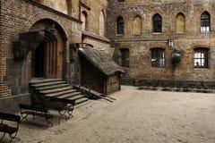 城堡gniew 免版税库存图片