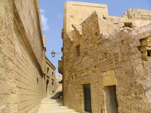 城堡gozo马耳他 免版税库存图片