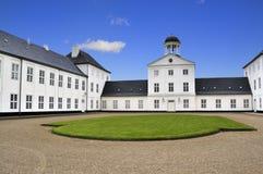 城堡graasten 库存图片