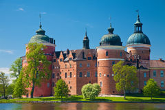 城堡gripsholm 免版税库存照片