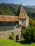 城堡gruyeres 图库摄影