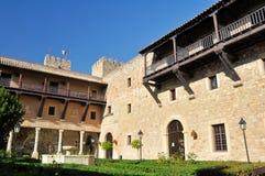 城堡guadalajar旅馆现在运行siguenza状态 免版税库存照片