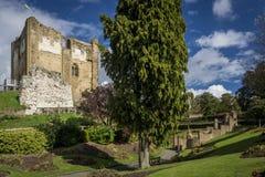城堡guildford萨里 免版税库存照片