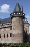 城堡Haarzuilen 免版税库存图片