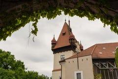 城堡Hagenberg在奥地利 图库摄影