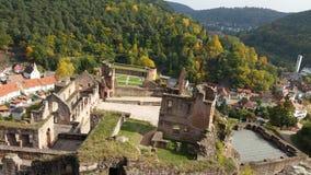 城堡Hardenburg 库存照片