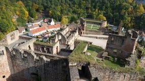城堡Hardenburg 免版税库存照片