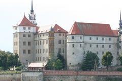 城堡hartenfels 图库摄影