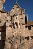 城堡haut koenigsbourg 库存图片