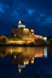 城堡herman narva 免版税图库摄影