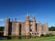 城堡herstmonceux 库存图片