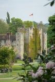 城堡hever肯特 库存图片