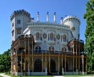 城堡hluboka 库存照片