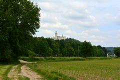 城堡Hluboka 免版税图库摄影
