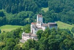 城堡Hohenaschau, Aschau,巴伐利亚 免版税库存图片