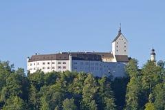城堡Hohenaschau 库存图片
