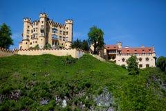 城堡hohenschwangau 库存图片