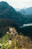 城堡hohenschwangau 库存照片