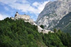城堡Hohenwerfen,奥地利 免版税图库摄影