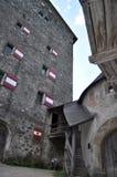 城堡Hohenwerfen,奥地利 免版税库存照片
