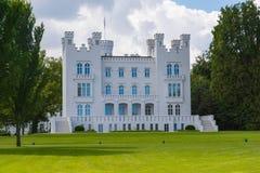 城堡Hohenzollern在波罗的海的海利根达姆 免版税库存图片
