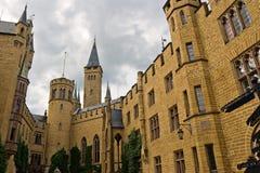 城堡hohenzollern的德国 免版税库存图片