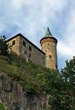 城堡hora kuneticka 库存图片