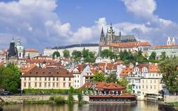 城堡hrad prazsky的布拉格 免版税图库摄影