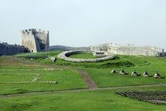 城堡hrad spissky的斯洛伐克 库存图片