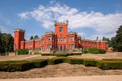 城堡Hradek在捷克共和国的u Nechanic 库存图片