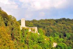 城堡hundersingen 免版税图库摄影