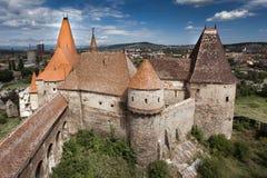 城堡huniazilor 图库摄影