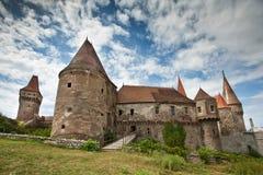 城堡huniazilor 免版税图库摄影