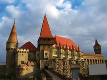 城堡hunyad 库存照片