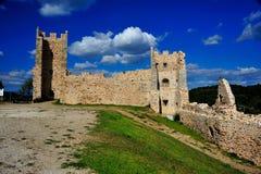 城堡hyeres 免版税库存照片