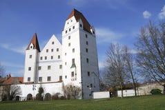 城堡ingolstadt 库存照片