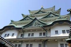 城堡japn名古屋 库存图片