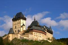 城堡karlshtein 免版税库存图片