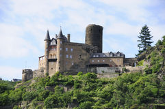 城堡katz 免版税库存照片